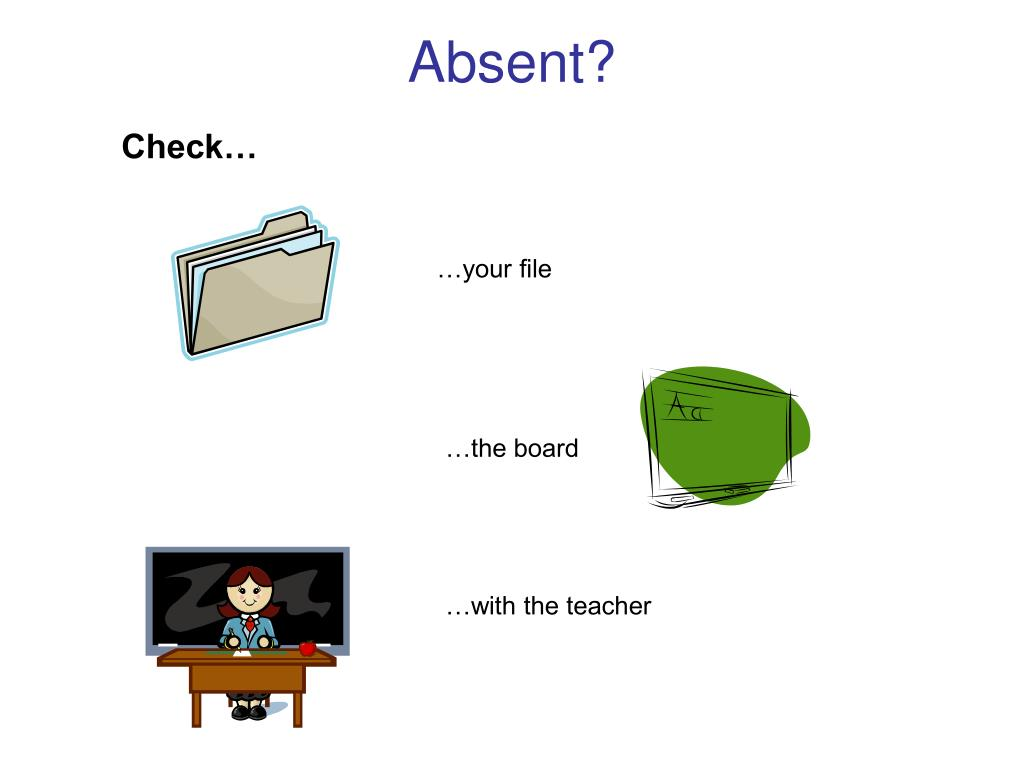 Absent?