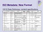 iso metadata new format16
