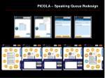 picola speaking queue redesign