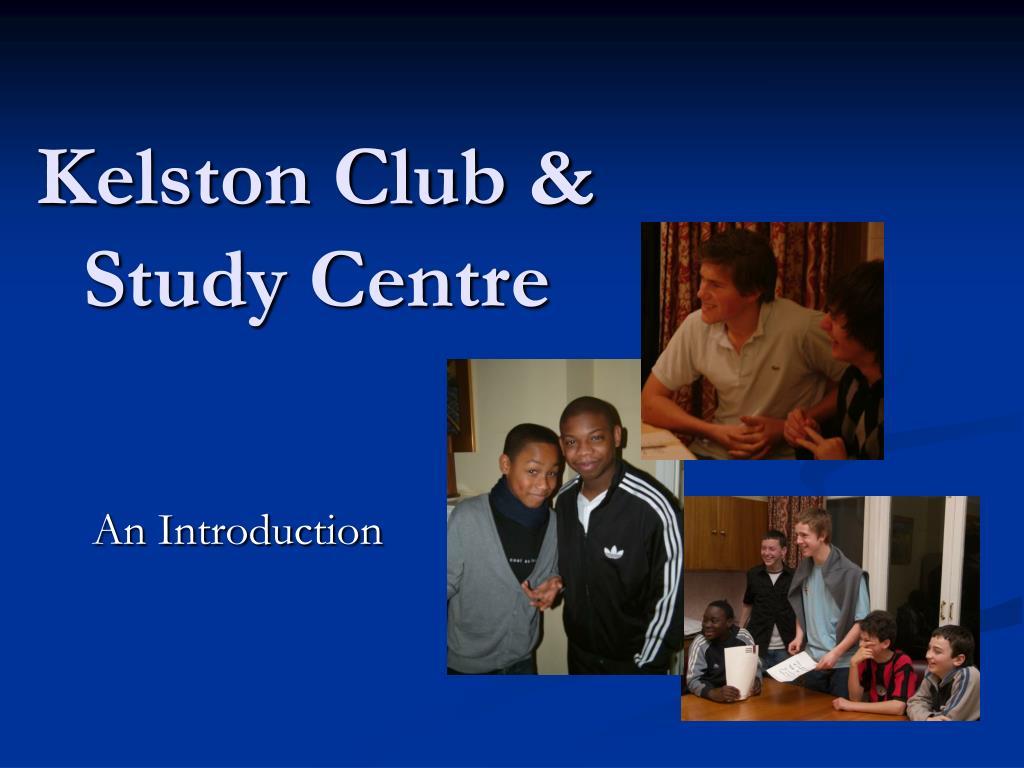 kelston club study centre l.