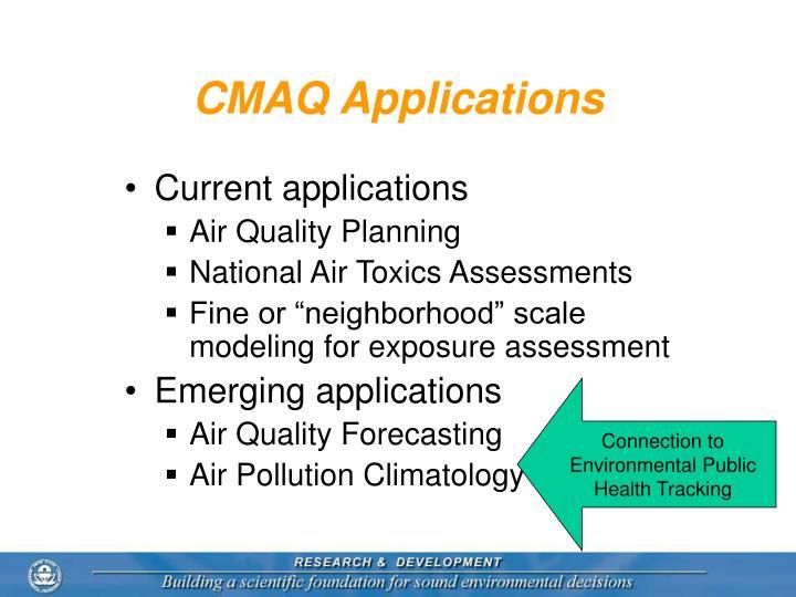 CMAQ Applications