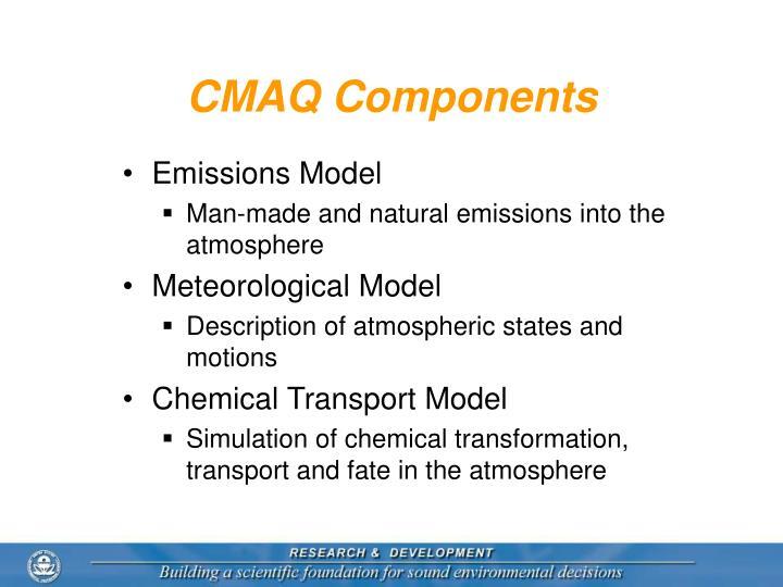 CMAQ Components