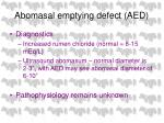 abomasal emptying defect aed69