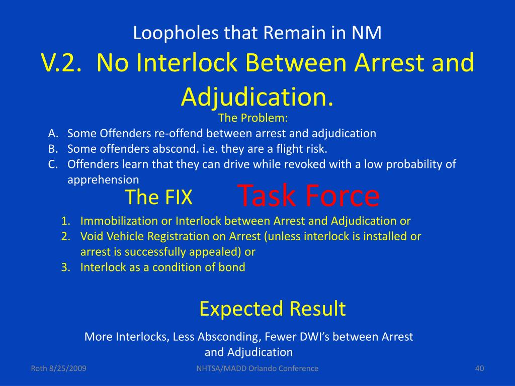 Loopholes that Remain in NM