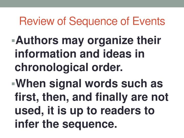 ppt sequence of events summarization lesson james forten from