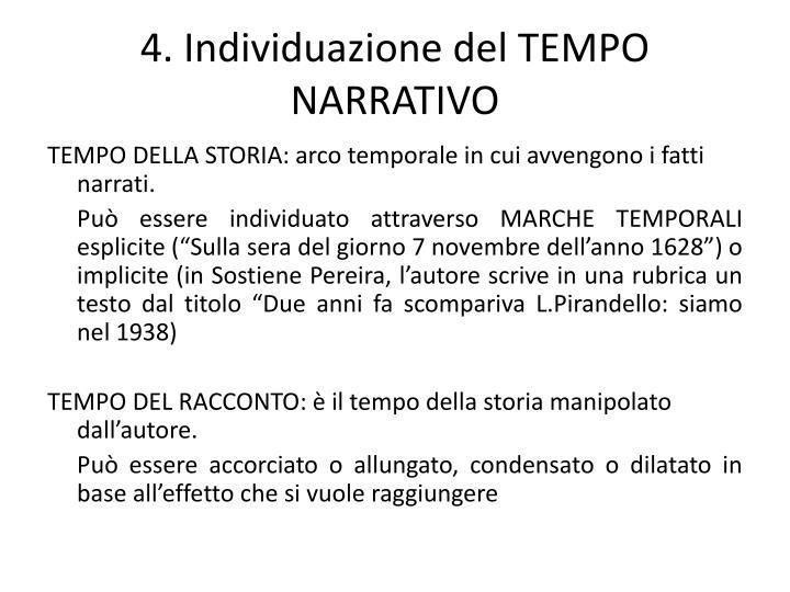 4. Individuazione