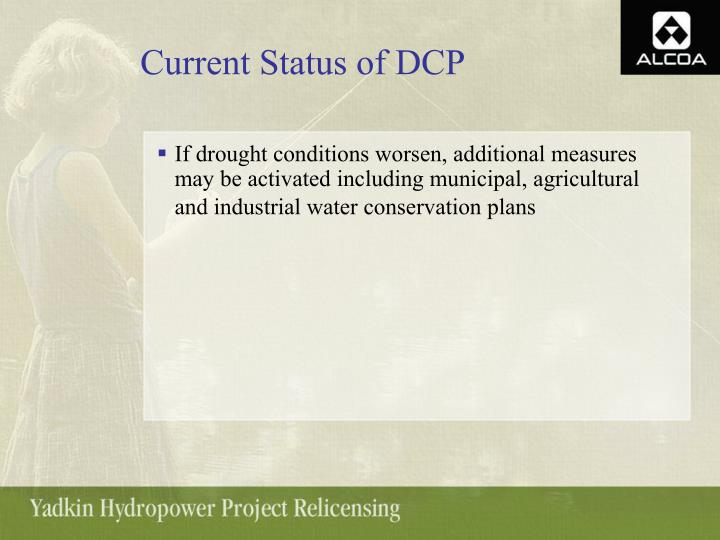 Current Status of DCP