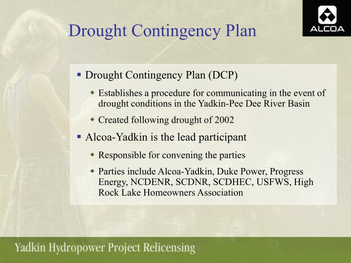 Drought Contingency Plan