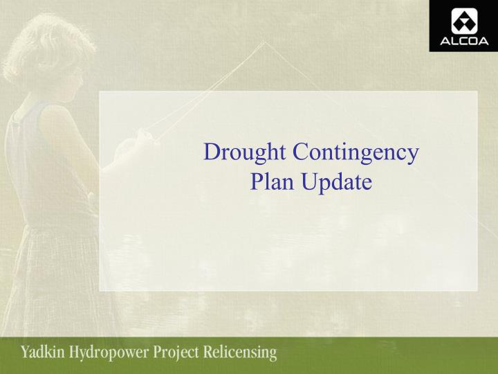 Drought Contingency