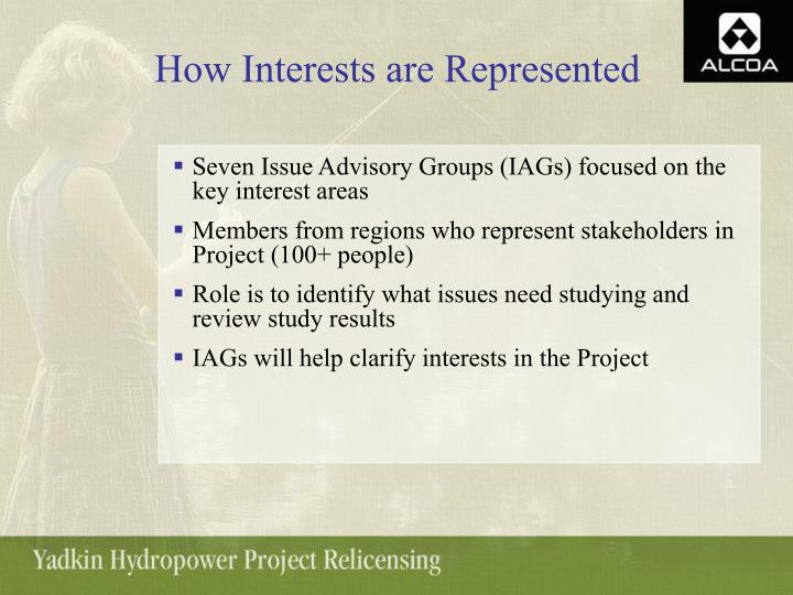 How Interests are Represented