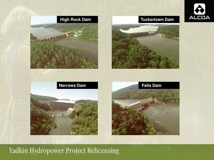 High Rock Dam