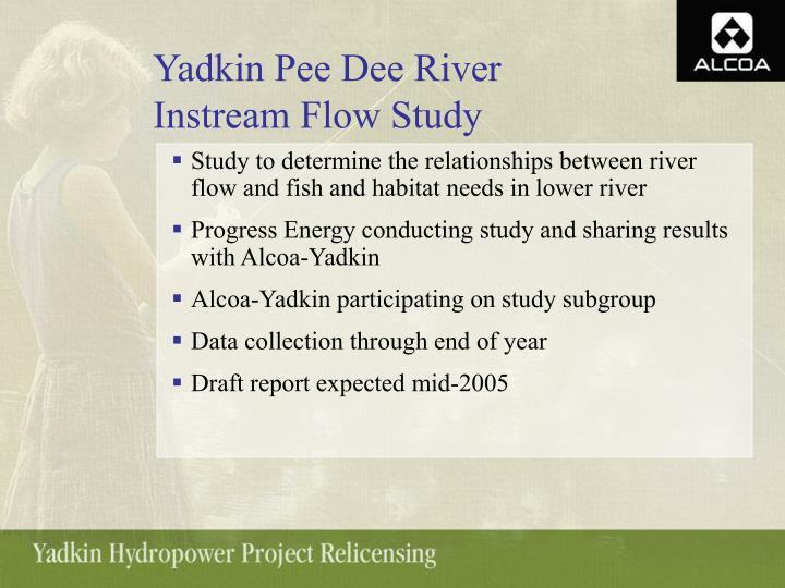 Yadkin Pee Dee River