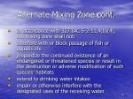 alternate mixing zone cont15