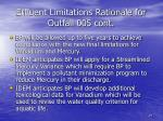 effluent limitations rationale for outfall 005 cont27