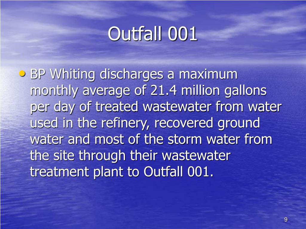 Outfall 001