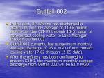 outfall 002