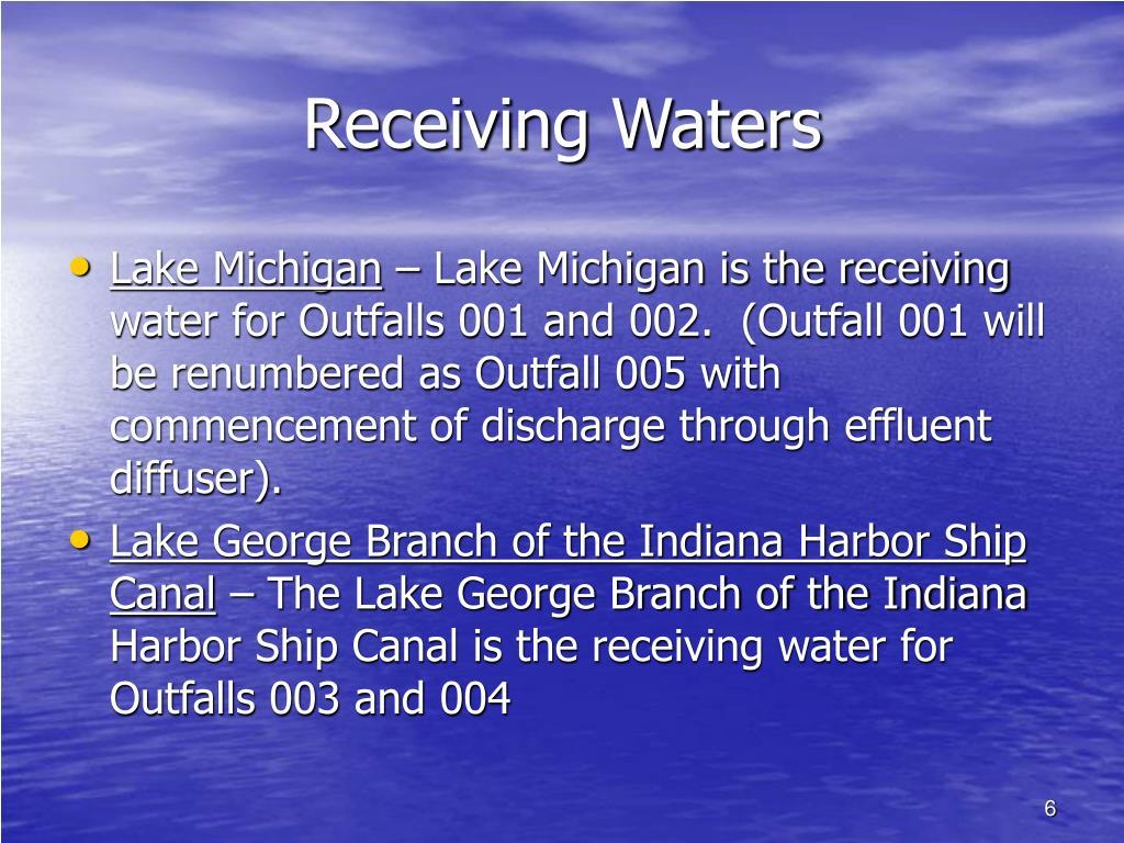Receiving Waters