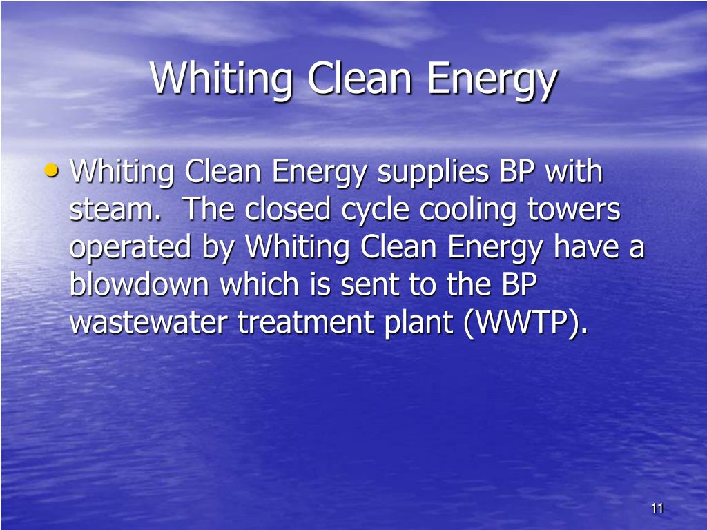 Whiting Clean Energy