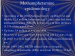 methamphetamine epidemiology