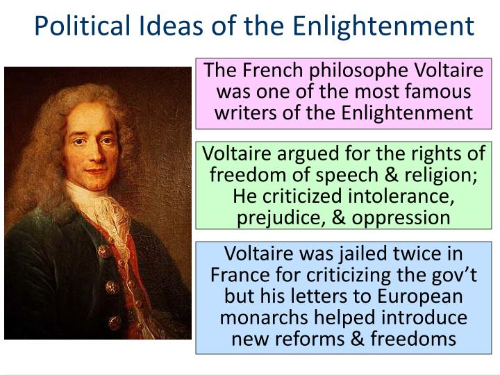 the economic ideas of the enlightenment It gave answers to reason - sparked by philosophers, scientiist, and thinkers that took reasoning and applied it to human nature, society, religion and politics.