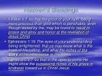 heaven s blessings