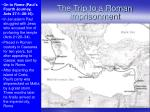 the trip to a roman imprisonment