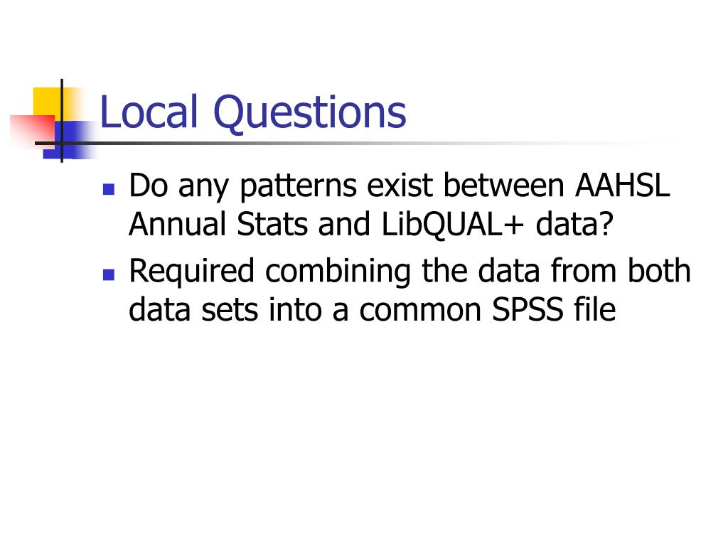 Local Questions