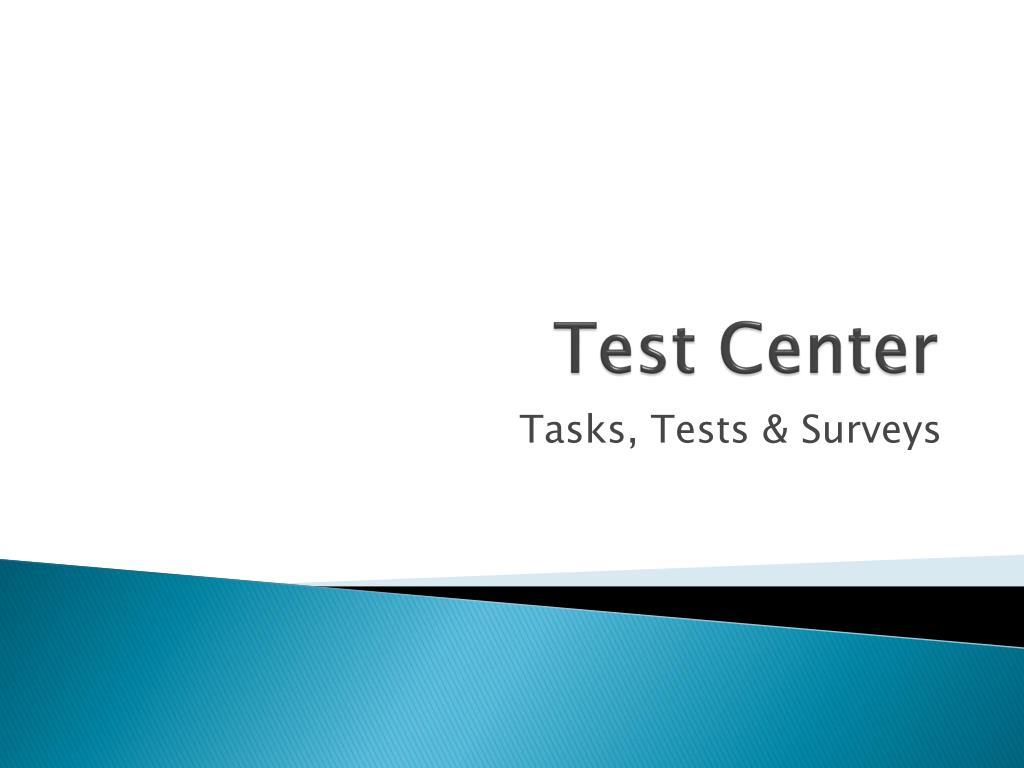 test center l.