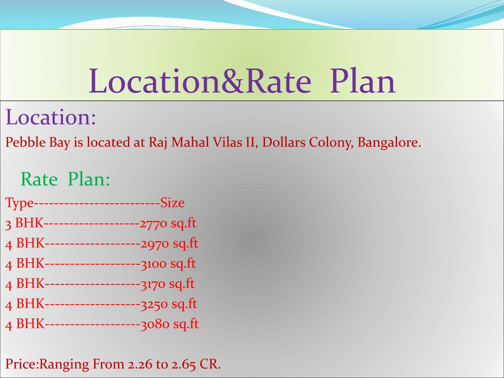 Location&Rate