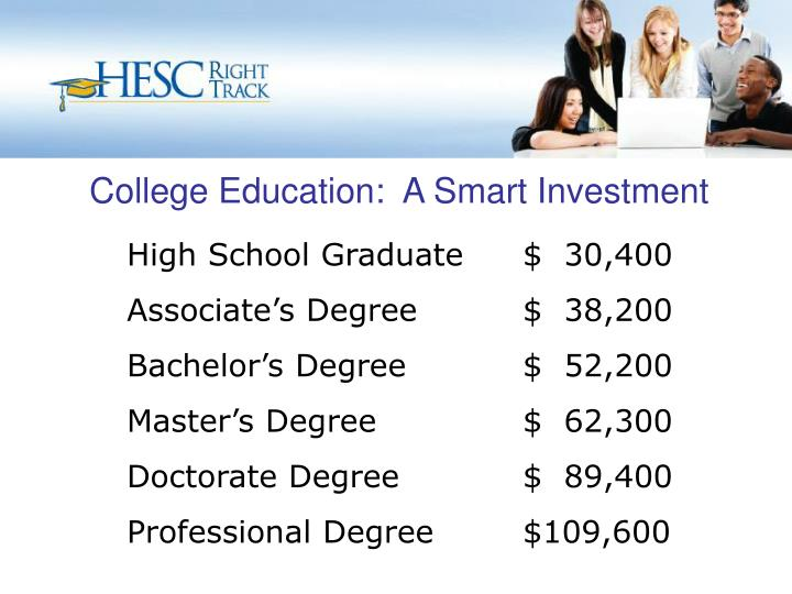College education a smart investment