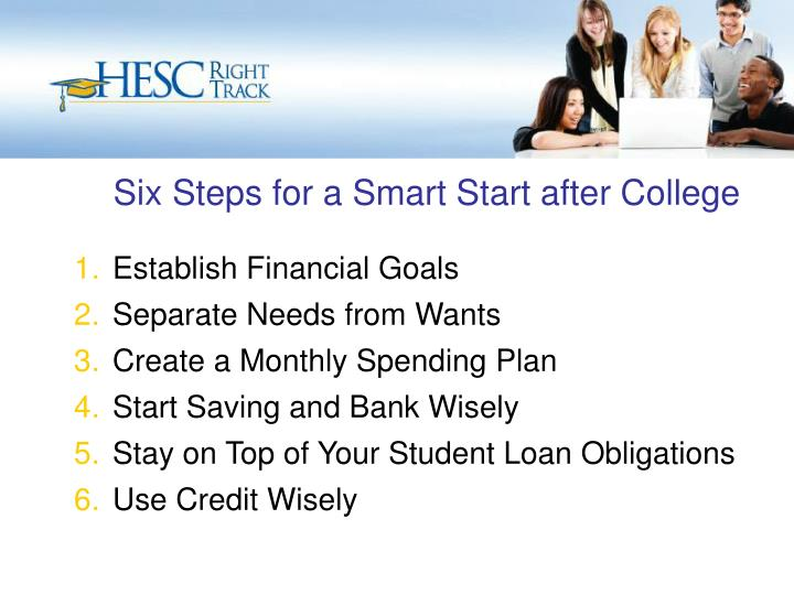 Six Steps for a Smart Start after College
