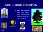 step 1 basics of electricity