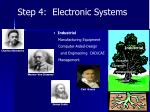 step 4 electronic systems4