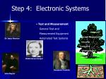 step 4 electronic systems5