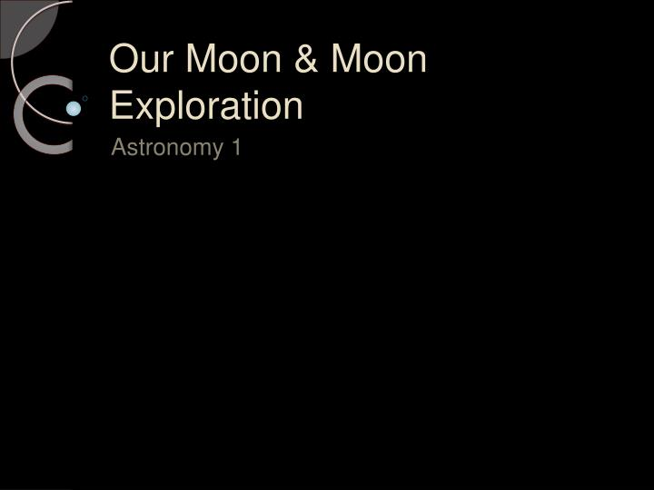 our moon moon exploration n.
