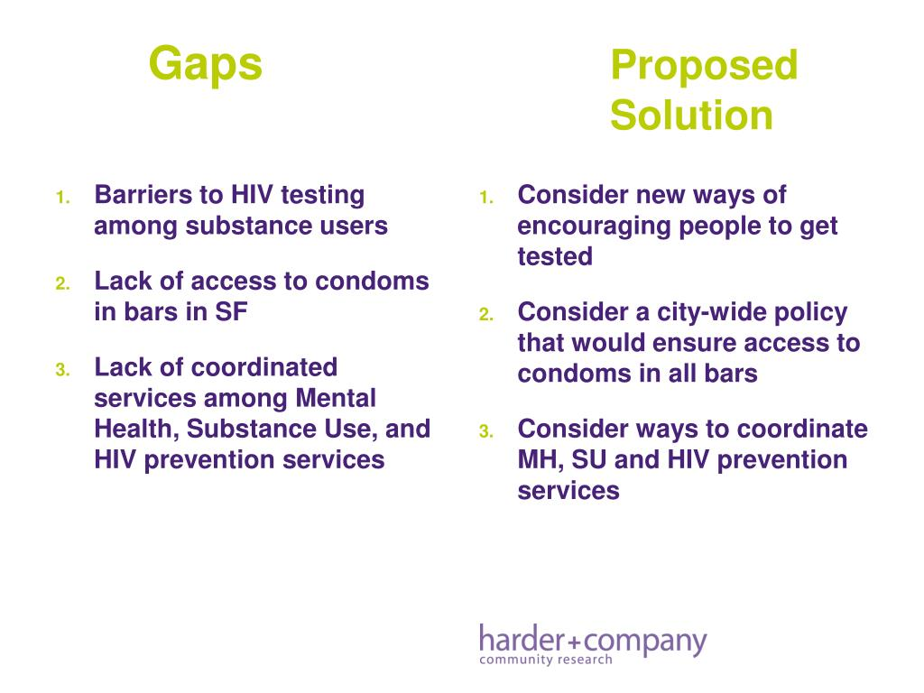Barriers to HIV testing among substance users