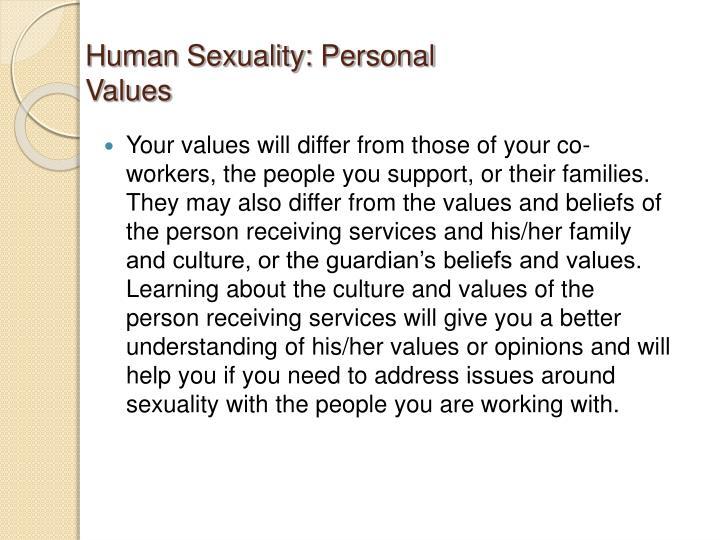 Human Sexuality: