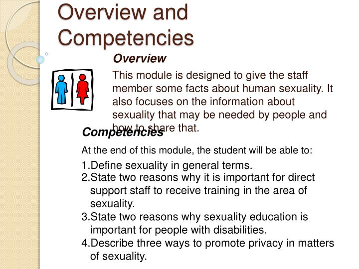 Overview and competencies
