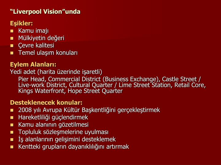 """Liverpool Vision""unda"