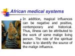 african medical systems37