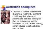 australian aborigines47