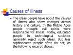 causes of illness