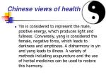 chinese views of health22