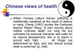 chinese views of health23