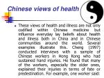 chinese views of health26