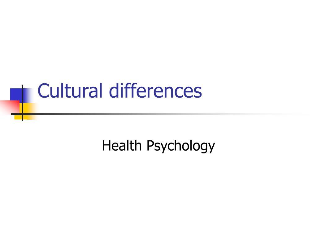 cultural differences l.