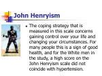 john henryism80