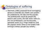 ontologies of suffering19
