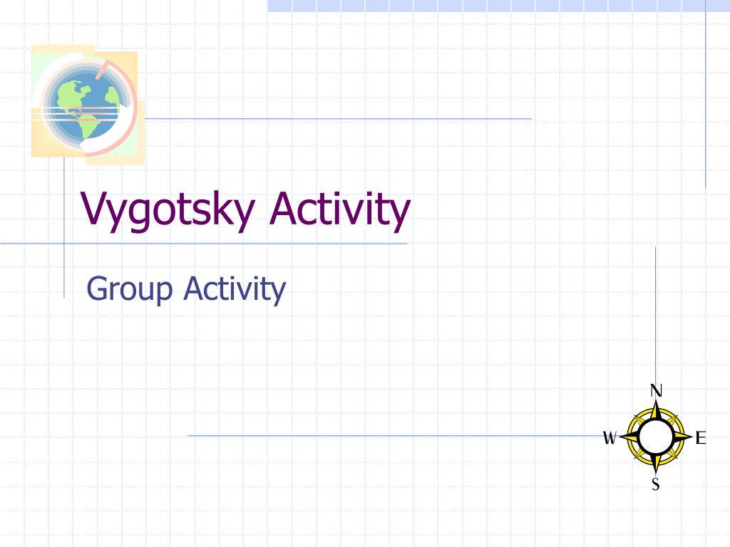vygotsky activity l.