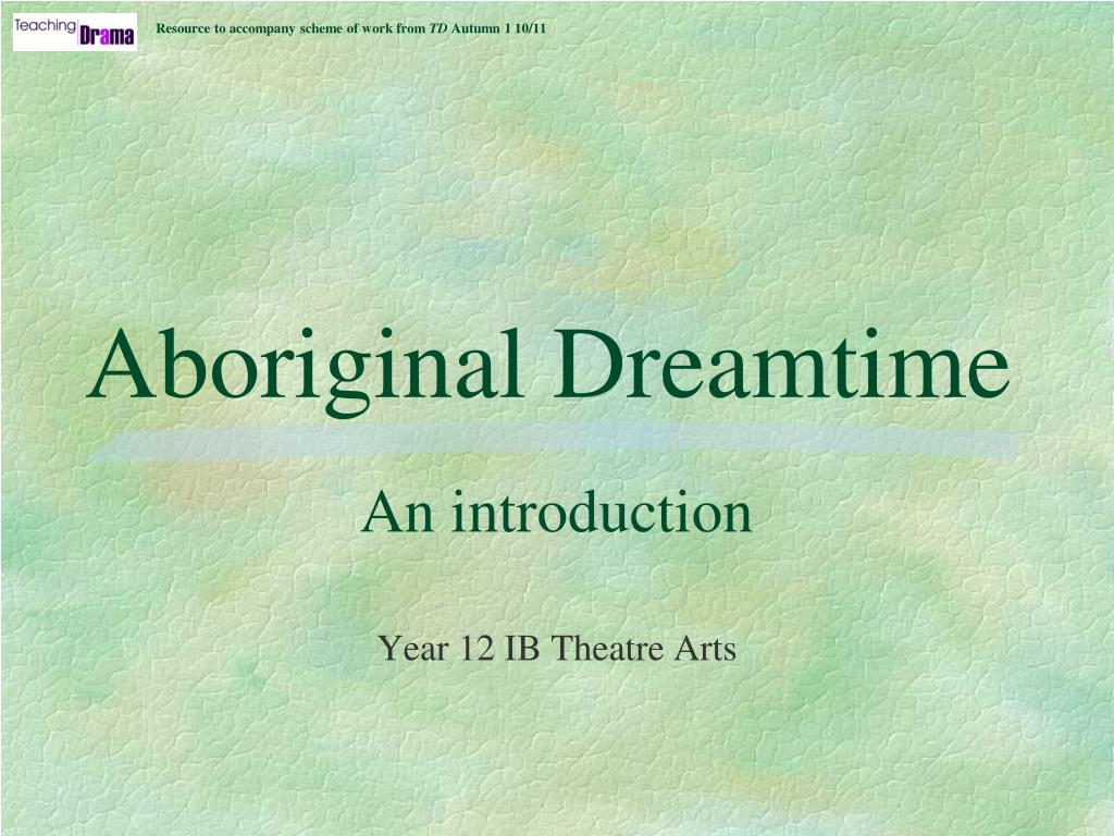 aboriginal dreamtime l.